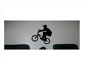 BMX-amp-Rider-Removable-Vinyl-Sticker-for-Wall-or-Car-230mm-x-220mm