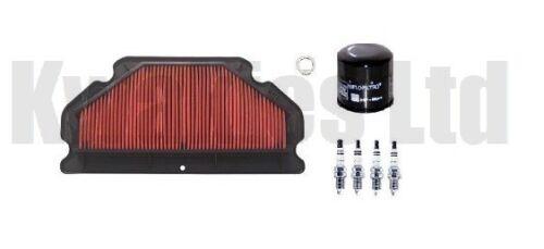 Kawasaki ZX6R ZX636 B1H-B2H 2003-2004 Service Kit Filters Iridium Plugs
