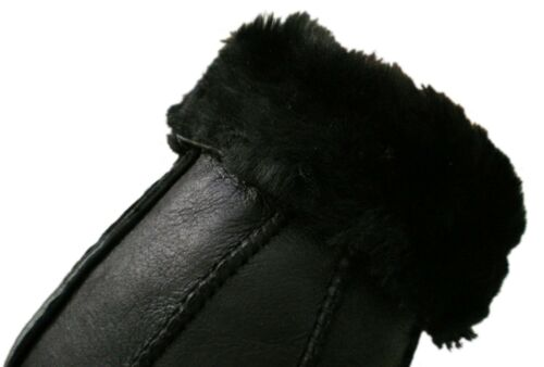 LADIES Womens 100/% GENUINE SHEEPSKIN REAL NAPPA LEATHER GLOVES Black Brown Grey