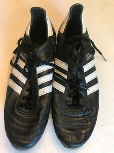 d59383ec86f Adidas Copa Mundial Outdoor Soccer Shoes- Size 12.5 - Black   White ...