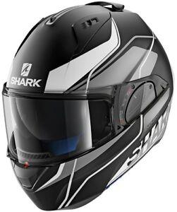 Shark-Evo-One-2-Krono-Casque-de-Moto-System-Jethelm-Integral-Modulable