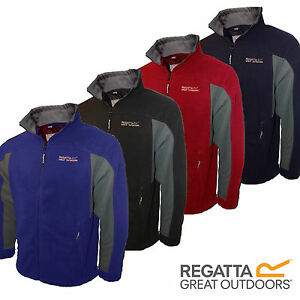 Regatta-Fleece-Mens-Sigma-Energise-II-Micro-Thompson-Landgale-Jacket-Logo-New