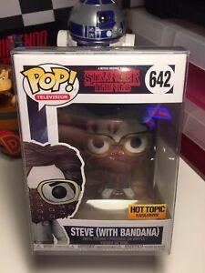 Steve With Bandana Funko Pop Vinyl Figure Stranger Things #642