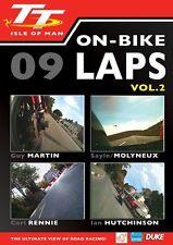 Isle of Man TT 2009 - On Bike Laps Volume 2 (New DVD) Guy Martin Carl Rennie