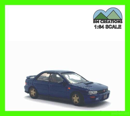 AUG 2020 SUBARU 1994 IMPREZA WRX STi 1//64 BM Creations blue