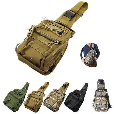 Outdoor Sport Military Tactical Backpack Camping Hiking Trekking Shoulder Bag@
