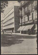 AD3321 Alessandria - Città - Piazza della Libertà e Palazzo delle Poste