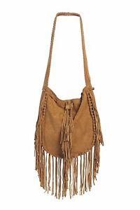 Fringed-Genuine-Leather-Suede-Shoulder-Messenger-Crossbody-Bag-Tassel-in-4COLORS