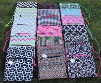 Sling Bag Backpack Cinch Sack School Travel Yoga Beach Chevron Cheetah Damask
