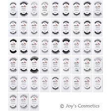 """4 AMOR US 100% Human Hair Fake EyeLashes """"Pick Your 4 Type""""*Joy's cosmetics*"""