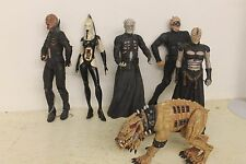 Neca Hellraiser Series 2 LOOSE Set Pinhead, Chatterer, Stitch, CD, Wire Twin