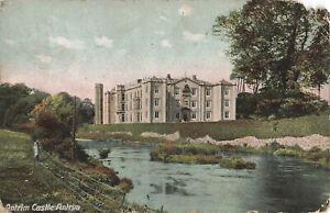 Rare-Vintage-Postcard-Antirm-Castle-Antrim-N-Ireland-Early-20th-Century-1910