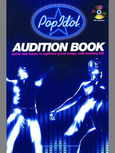Pop Idol Audition Songbook (vocal/CD); Various, 9924A, FABER - 1843285150