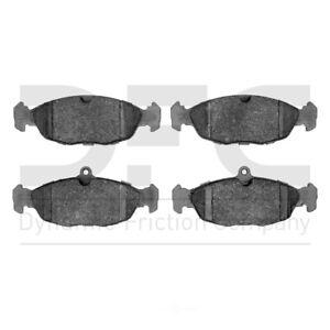 Disc Brake Pad Set-5000 Advanced Brake Pads - Low Metallic Rear,Front DFC