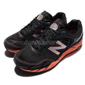 New Balance MTLEADO3 2E Wide Leadville V3 Black Orange Mens Running MTLEADO32E