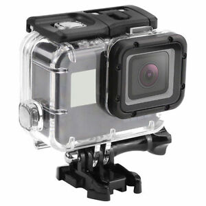 Image is loading Diving-Waterproof-Housing-Case-For-GoPro-Hero-5- 6e4c5fa052b3