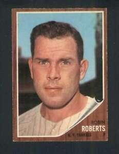 1962-Topps-243-Robin-Roberts-EX-Yankees-123259