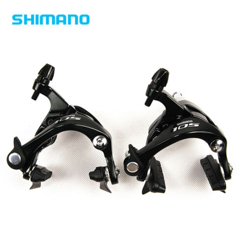 Rear Black Shimano 105 BR-5800 Dual Pivot Brake Caliper  Front
