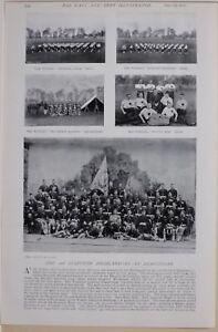 1896 Guerre Des Boers Ere 2ème Seaforth Highlanders Ferozepore Colour-sergeant Upgkt6in-07231336-511618427