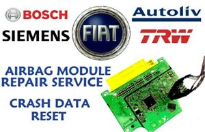 FIAT 500 52056238 Modulo Airbag Srs Servizio Reset dei Dati Crash