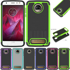 cefacd12f70 Image is loading Rugged-Hybrid-Hard-Armor-Case-Shockproof-Rubber-Cover-