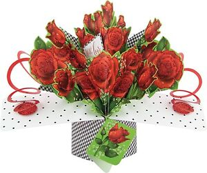 Image Is Loading FLOWERS HAPPY BIRTHDAY CARDS POP UP GREETING
