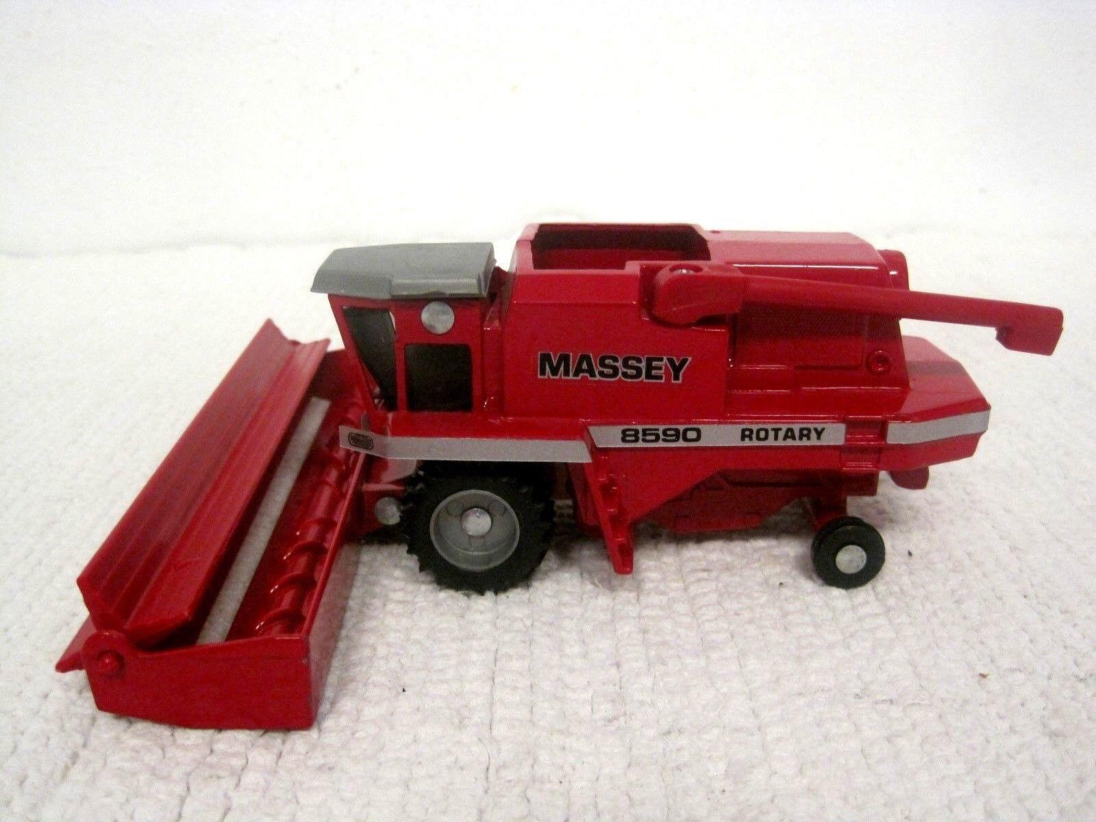 Vintage Massey 8590 Die Cast Rojo combinar rojoativo 1 64 - Excelente +
