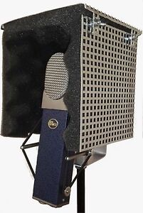 Compact-Studio-Microphone-Isolation-Shield-with-Sound-Portable-Vocal-Booth