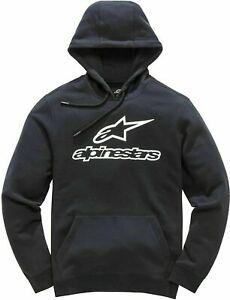 Alpinestars-Always-Casual-wear-Hoodie-Men-pull-over-hoody-Black