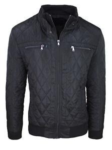 comment acheter bonne qualité magasin en ligne Détails sur Veste Doudoune Homme Trade Noir Hivernal Casual Blouson de S à  XXXL