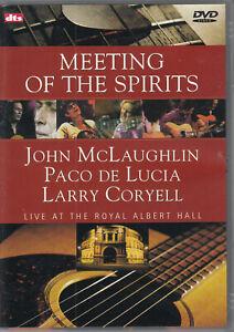 John McLaughin, Paco de Lucia, Larry Coryell-Meeting of the Spirit (Live-DVD)