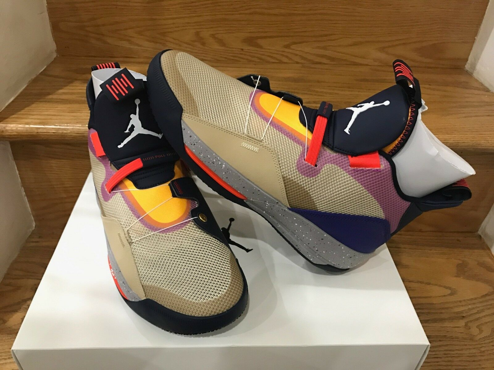 Nike Air Jordan 33 XXXIII Visible Utility Particle Beige Size 8-14 DS AQ883-501