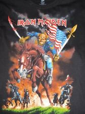 Iron Maiden Maiden England US Tour Shirt 2012 with Tour Dates Rare and OOP