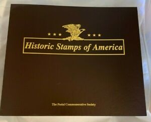 Historical-Stamps-of-America-200-covers-collection-binder-USPS-Limited-Edition
