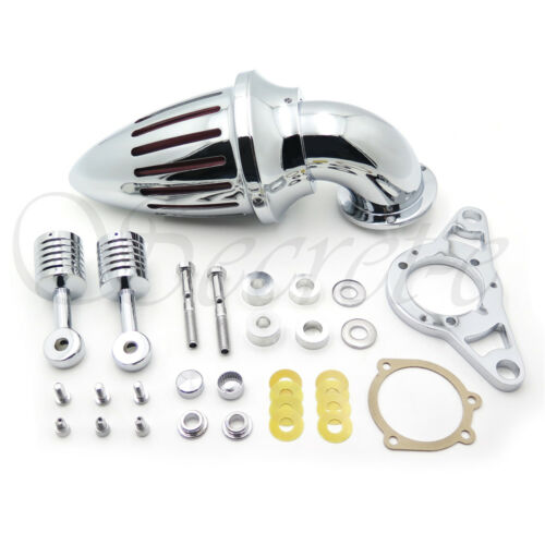 Bullet Air Cleaner Filter For Harley Softail Fat Boy Dyna Street Bob Wide Glide