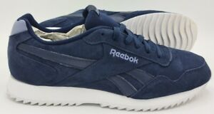 Reebok Royal Glide Suede Trainers DV6818 Navy Blue/White UK9.5/US10.5/EU44