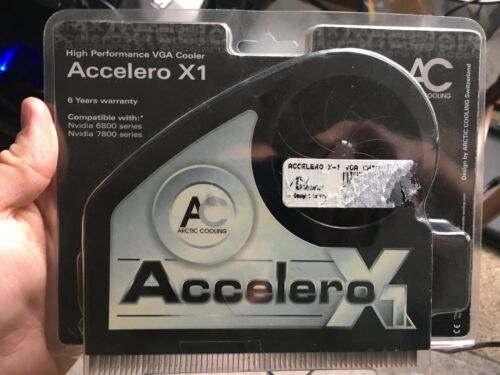 Brand new ARCTIC ACCELERO X1 GPU heatsink for nvidia 6800 and 7800