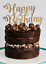 Hand-made-wooden-Happy-Birthday-Cake-Topper-any-colour thumbnail 13