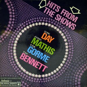 7-034-DORIS-DAY-Hits-From-The-Shows-EYDIE-GORME-TONY-BENNETT-CBS-Musical-EP-UK-1967