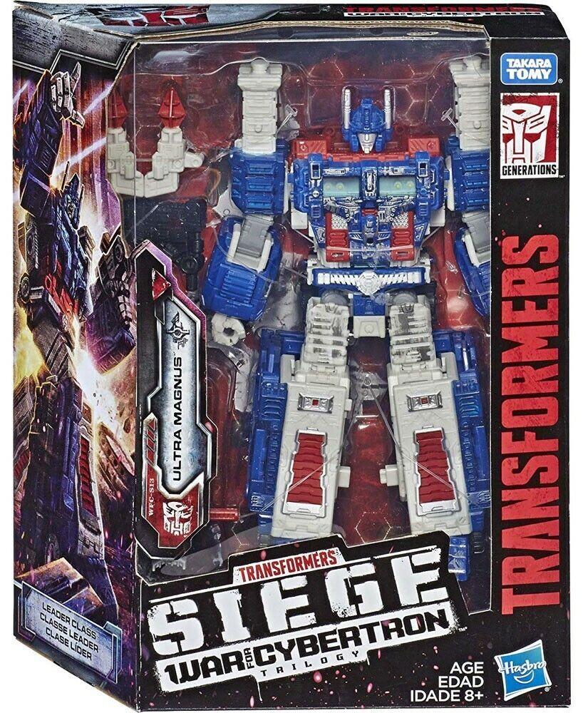 Líder de Transformers asedio guerra por Cybertron Ultra Magnus Nuevo