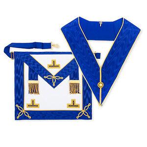 pelle-di-agnello-MASSONICO-Craft-PROVINCIALE-bassa-uniforme-Grembiule-con-levels