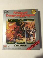 SSI Advanced Dungeons And Dragons*Heroes Of The Lance Dragons of Flame Hillsfar