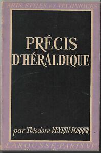 Précis d'héraldique de Théodore Veyrin-forrer