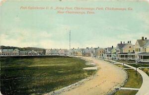 Military-Chickamauga-Georgia-Fort-Oglethorpe-US-Army-Post-Houses-Barracks-1907