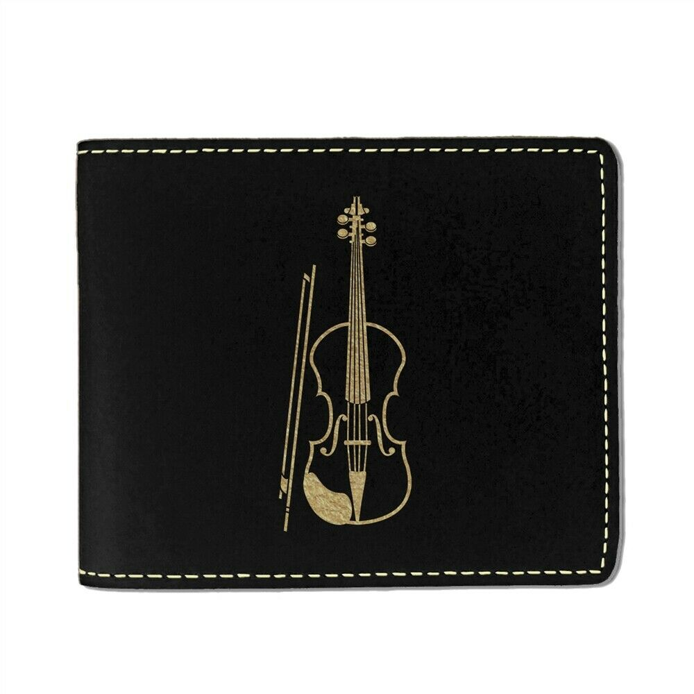 Faux Leather Wallet, Violin