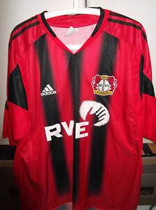 Dettagli su maglia shirt usata adidas bayer leverkusen calcio size XXL senza nome e numero