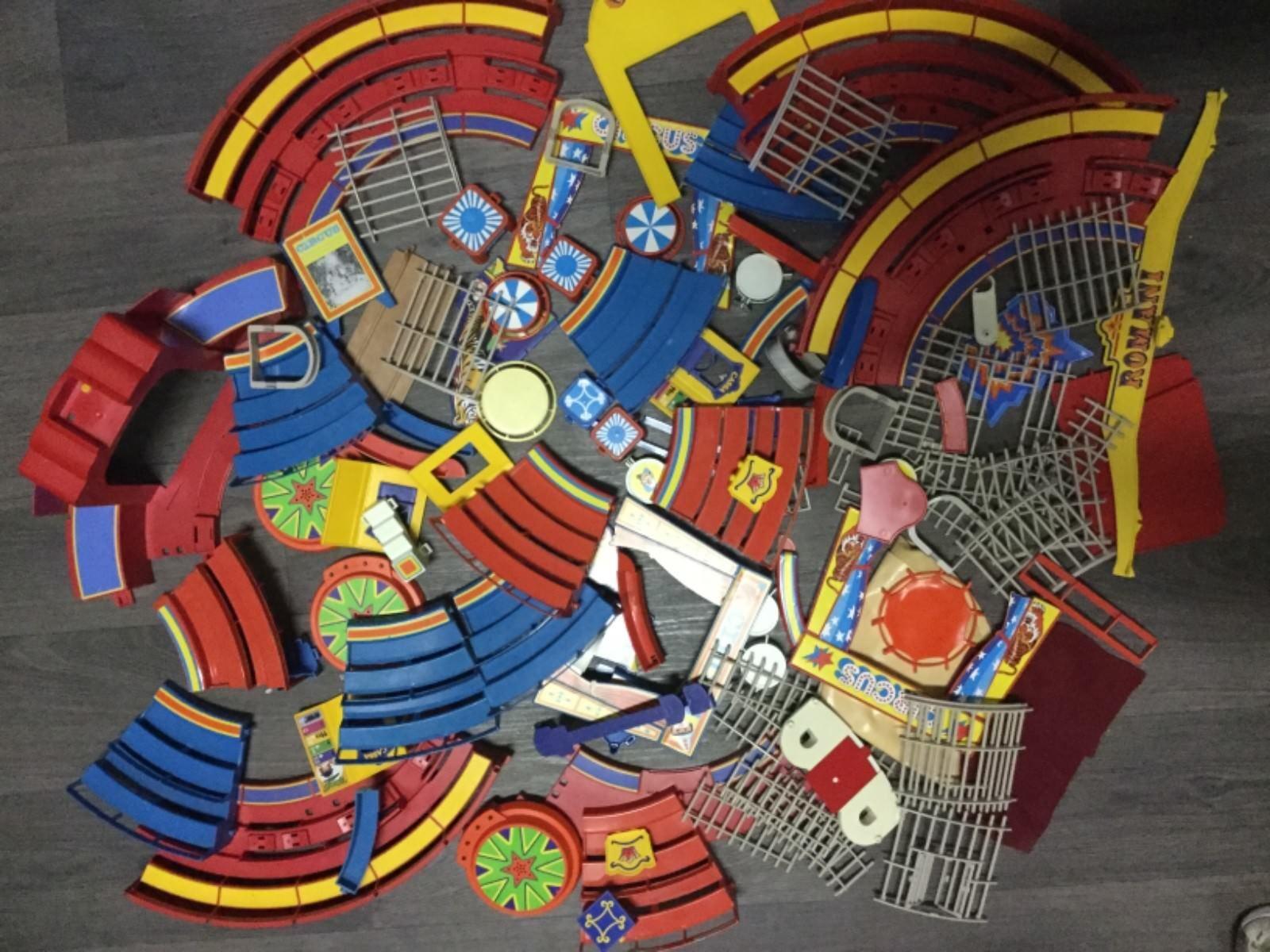 Playmobil Lot pièces détachées cirque 4kg