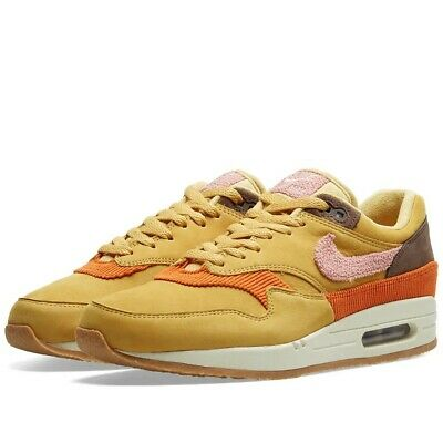 Nike Air Max 1 Bacon 'Crepe Sole' Wheat GoldRust Pink Uk Size 9.5 CD7861 700 | eBay