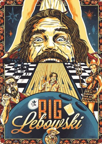 THE BIG LEBOWSKI THE DUDE NEW A3 PRINT POSTER PICTURE HAL1651