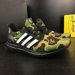 New Adidas Ultraboost Bape 4.0 Green